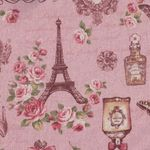 Vintage Collage by Cosmo Textiles Cotton/Linen