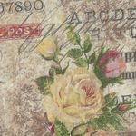 Wallflower Rose Parcel By Tim Holtz from Eclectic Elements PWTH035.8Multi