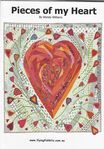 "Wendy Williams Pieces Of My Heart Pattern 50""x 50"