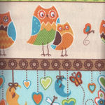 Wilmington Flannel  Owl Wonderful Patt. 9038 col124