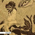 Woodcut Geisha by Alexander Henry TA7716 col B