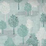 Woodland Trees by Makower Fabrics 2062 Style TP