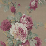 Yuwa Fabric Collection Made in Japan Kono Sanae 825370 Color E Roses