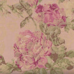 Yuwa Live Collection Made in Japan Jaquard Antique Roses 299384-D Pink