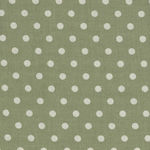 Yuwa Live Life Collection 816819 Colour 7 Green/Cream Spot
