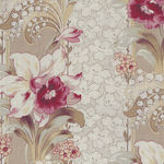 Yuwa M-func Fabric Collection MF826458 Color A New Design Orchid/Lily Of The Val