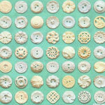 Flea Market Mix Buttons By Cathe Holden For MODA Fabrics MD7356 25 Green.