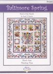 """Baltimore Spring""  Block of the Month Applique Pattern"