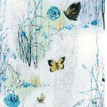 """Dream Blossom"" for Hoffman California Fabrics N7501 Dove Silver"