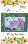 """NEW"" Black Eyed Susan Designs Quilt Pattern Clematis Vine"