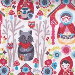 """NEW"" Riding Hood Cotton Fabric by Josephine Kimberling for Blend Fabr"