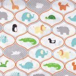 """NEW"" Riley Blake Cotton Quilting Fabric Little Ark"