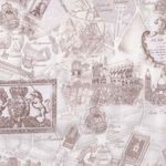 """NEW"" Timeless Treasures Fabrics ""Paris"" -C 2812"