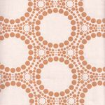 """New""Andover Cotton Fabric ""Orbit"" Metallic"