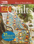 easy quilts- the best of fons and porter